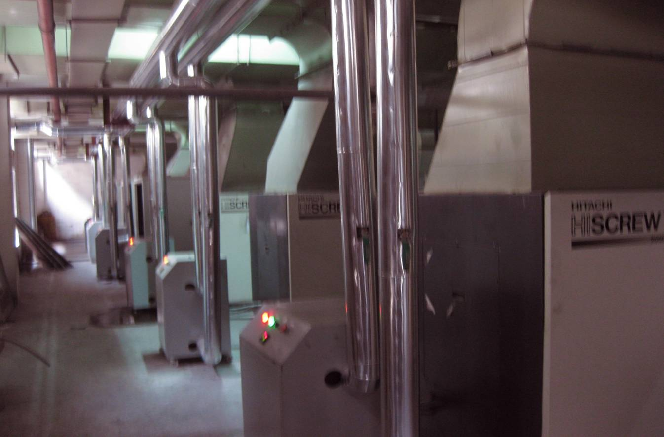 邵阳德斯兰螺杆式空压机维修